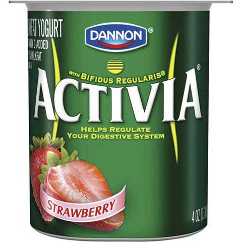 Activia Variety Pack Yogurt, 4 Ounce -- 24 per case.