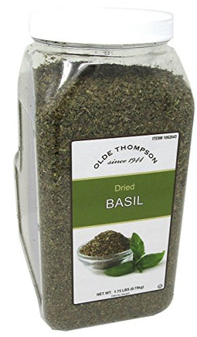 Olde Thompson Dried Basil, 1.75 lbs