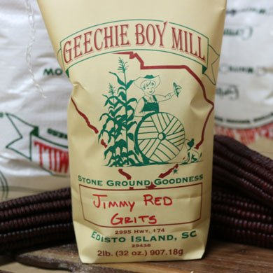 Geechie Boy Mill Heirloom Jimmy Red Grits 2 lbs