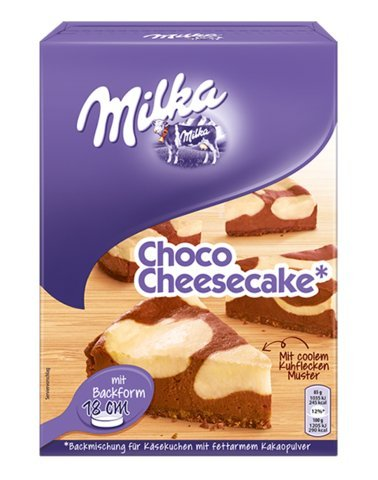 1 x Milka Choco Cheesecake : Baking Mix -Made in Germany