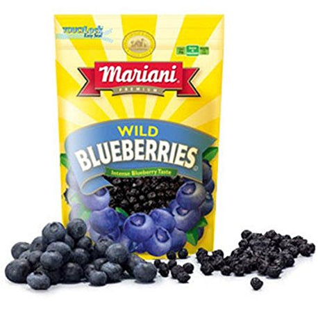 Mariani Wild Blueberries, 4-Ounces Units (Pack of 12)
