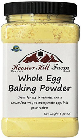 Hoosier Hill Farm Whole Egg Baking Powder, 1 Pound