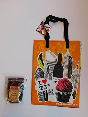 Trader Joe's Dried Fruit Orange Flavored Cranberries And NY Style Reusable Shopping Bag