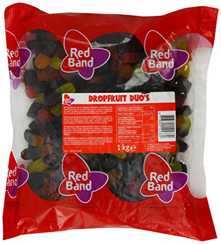 Red Band Liquorice Fruit Duos 1 Kg
