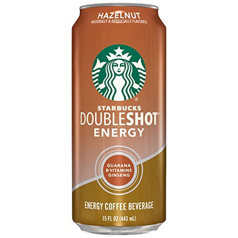 Starbucks Double Shot Energy Drink, Hazelnut