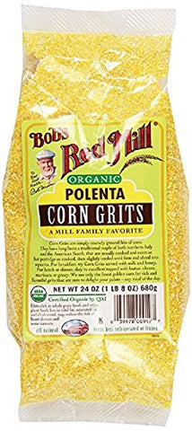 Bob's Red Mill Organic Corn Grits/Polenta - 24 oz - 2 Pack