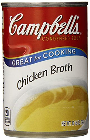 Campbell's Condensed Chicken Broth, 10.5 Ounce (Pack of 12)