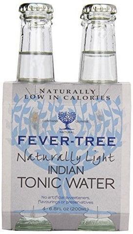 Fever Tree Soda 4pk Tonic Wtr Lt