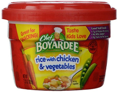 Chef Boyardee Rice with Chicken and Vegetables, 7.5 oz