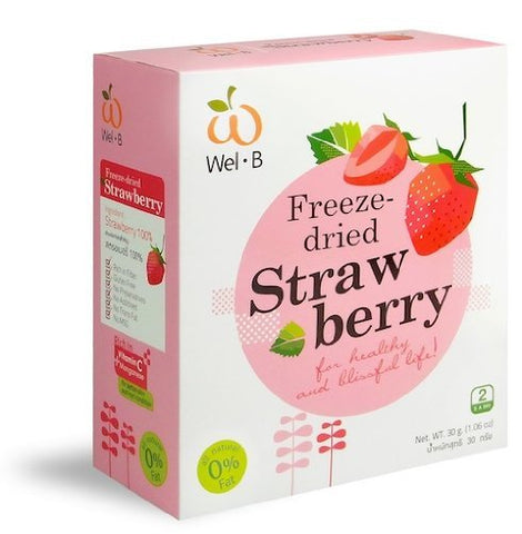 Strawberry,Freeze-dried Strawberry 100%natural Healthy Fruit Snacks(1.06oz)