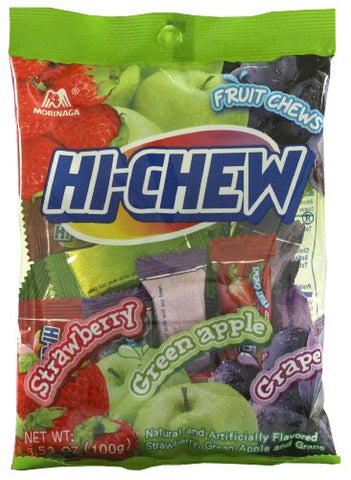 Morinaga Hi Chew Regular Mix Bag, 3.53-Ounce