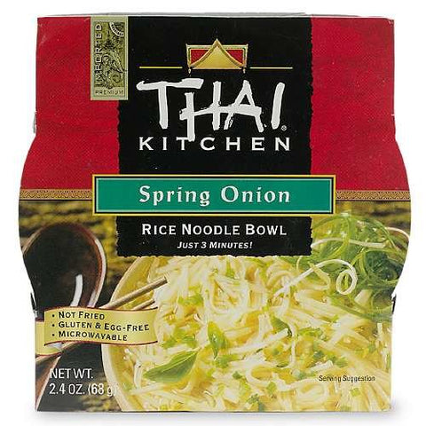 Thai Kitchen Rice Noodle Bowl, Spring Onion 2.4 oz (68 g)