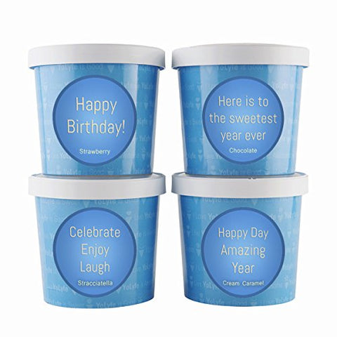 BIRTHDAY GELATO WITH PROBIOTICS COLLECTION GIFT 4 PACK