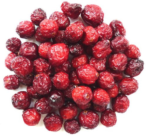 100% Organic Dried Cranberries Whole, 450g (15.9oz)