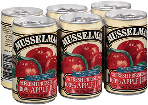 Musselman's 100% Apple Juice, 19.70 Pound (Pack of 8)