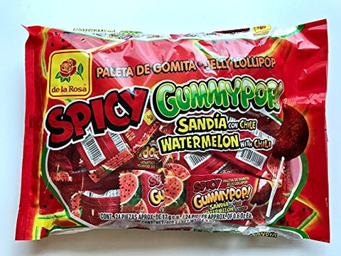 DE LA ROSA SPICY GUMMY POP WATERMELON