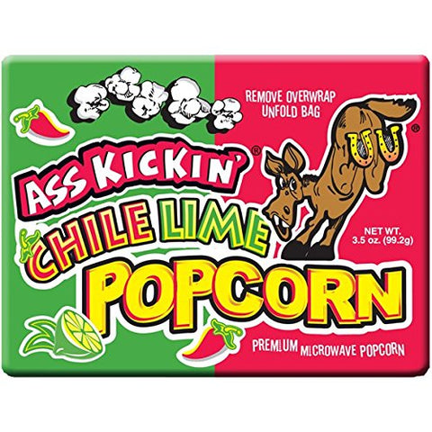 Ass Kickin - Chili Lime Popcorn, Sweet and Tangy Popcorn