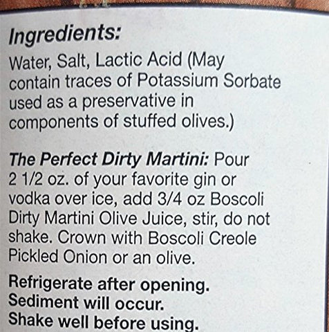 Dirty Martini Olive Juice 25 ounce