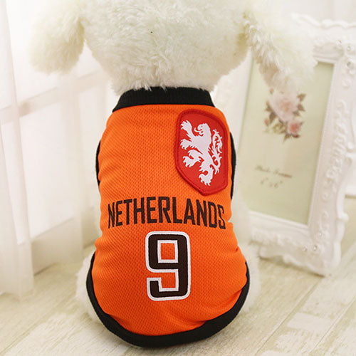 Sports Dog Vests!  All your Favorite Sport teams!
