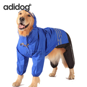 Adidog Dog Rain Coat for Large Dogs