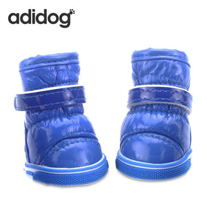 4pc Adidog Pet Dog Shoes
