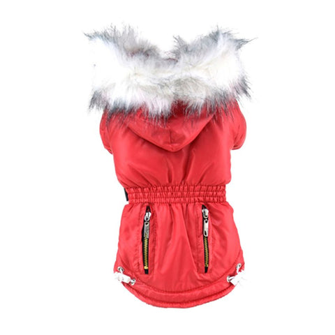 Autumn/Winter Dog Coat with Fur