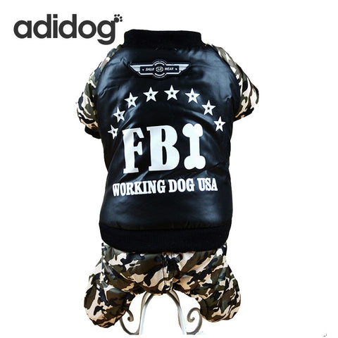 Adidog FBI Camoflauge Waterproof Jackets