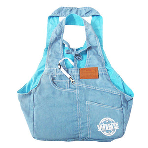High Quality Cotton Fabric Jean Dog Carrier