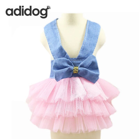 Spring and Summer Adidog Party Dress