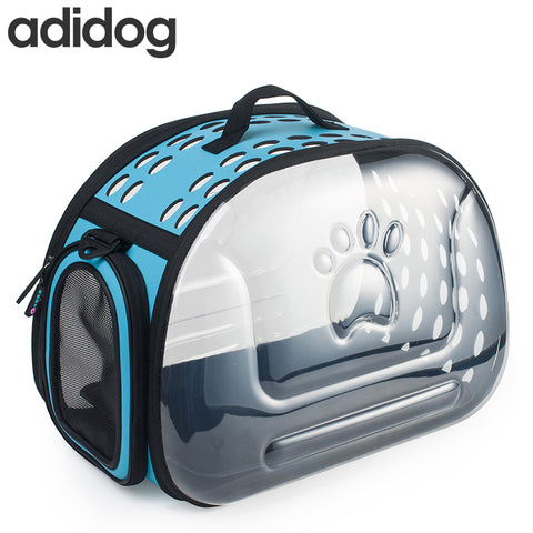 Adidog Transparent Dog Carrier