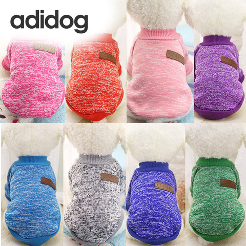 Adidog Spring Sweater for Dogs