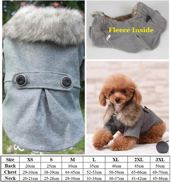 Luxury Winter Coat for She Dog
