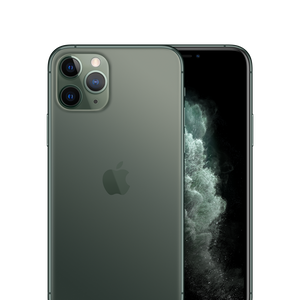 iPhone 11 Pro Max Unlocked Midnight Green Front Back
