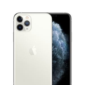 iPhone 11 Pro Unlocked Silver Front Back