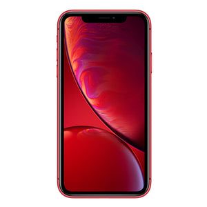 iPhone XR Red Front View