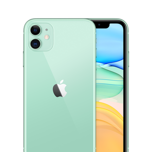 iPhone 11 Unlocked Green Front Back