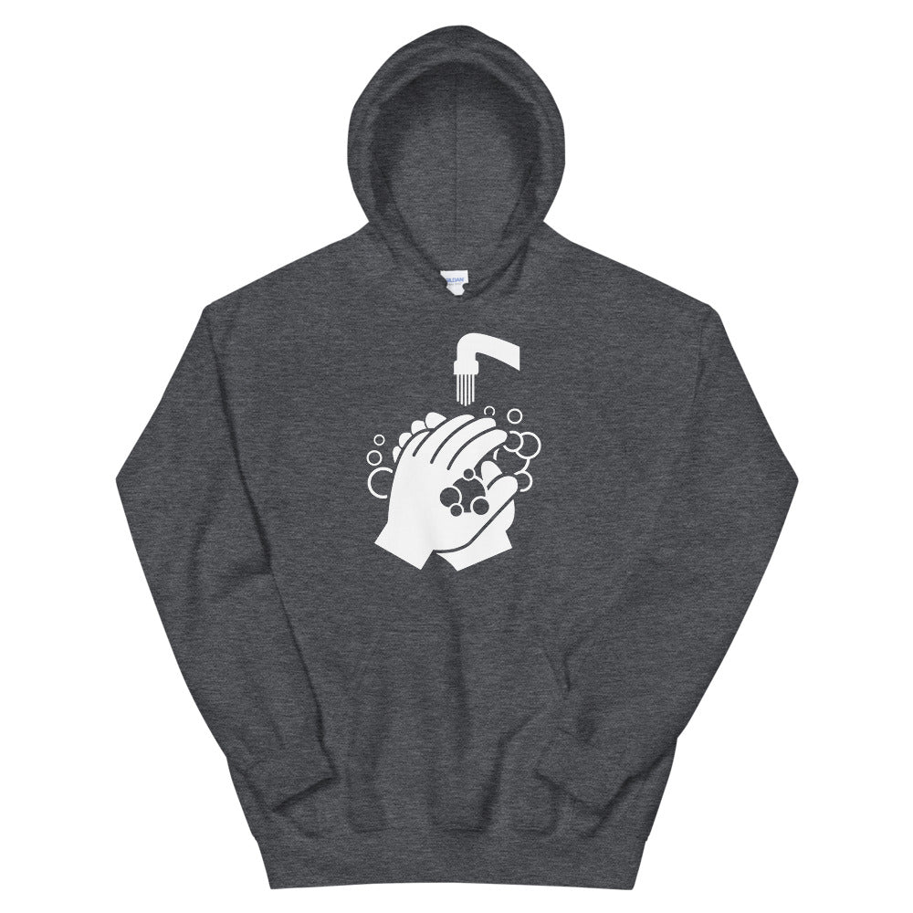 Hooded Sweatshirt - Clean Hands Light
