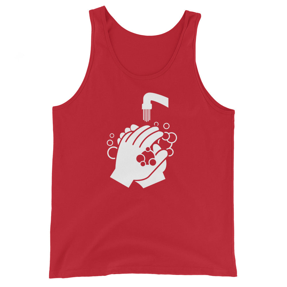 Unisex Tank Top - Clean Hands Light