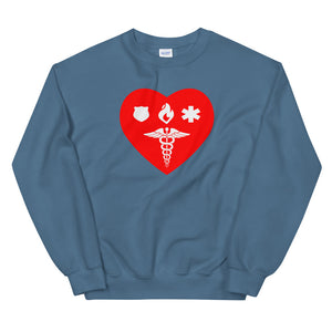 Sweatshirt - Healthcare 1st Responder Love