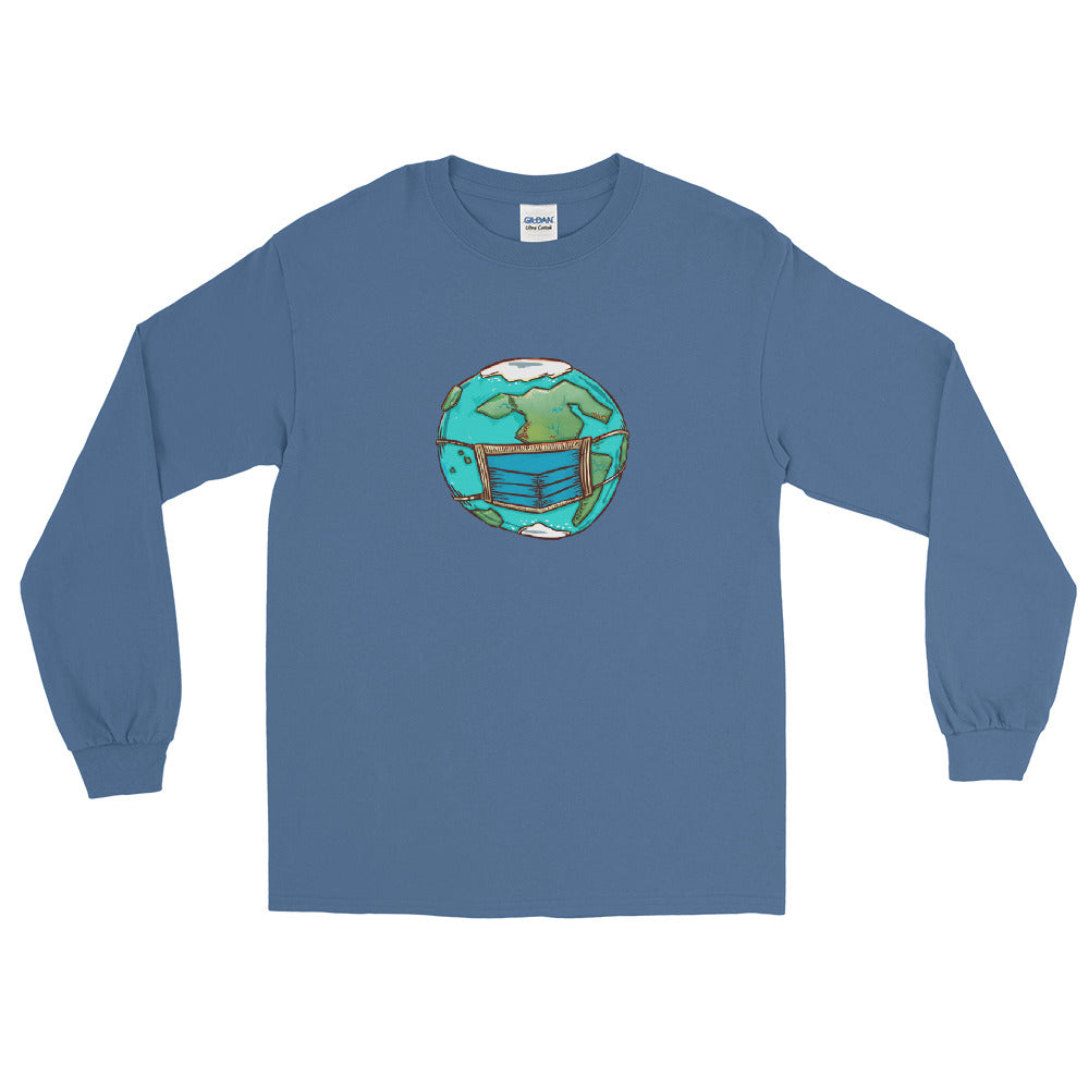 Long Sleeve T - Masked Earth