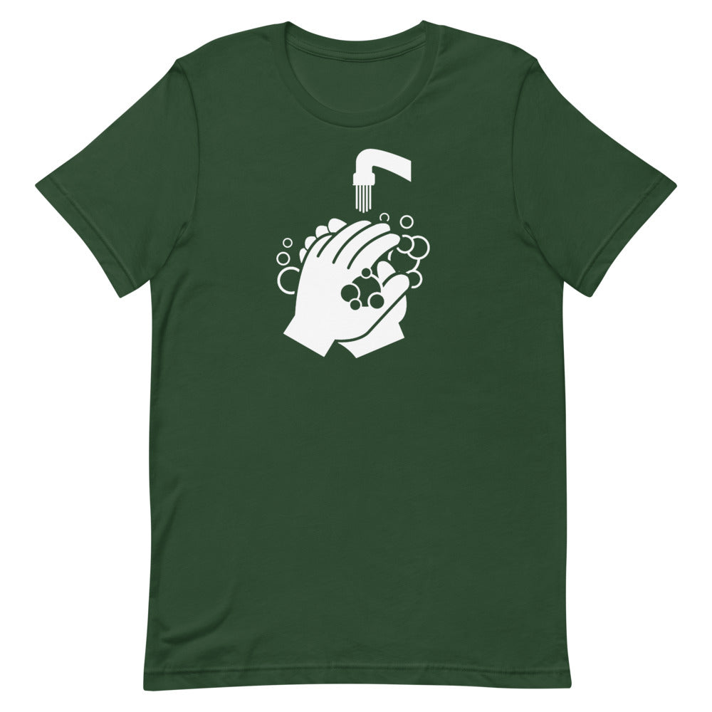 Unisex Short-Sleeve T-Shirt - Clean Hands Light