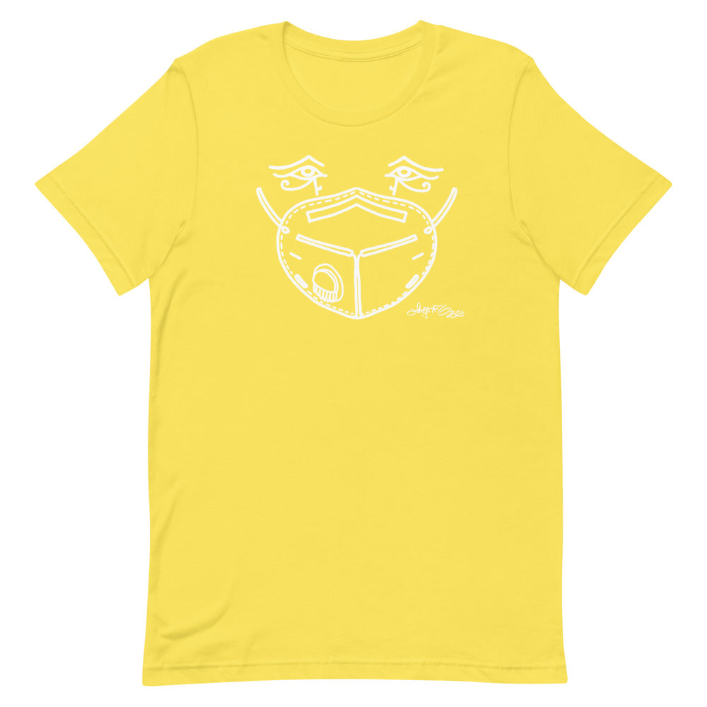 Unisex Short-Sleeve T-Shirt - Mask Eyes Light