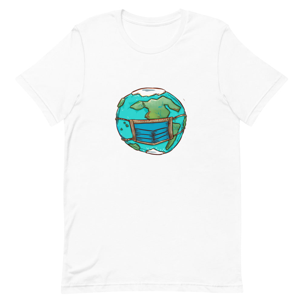 Unisex Short-Sleeve T-Shirt - Masked Earth