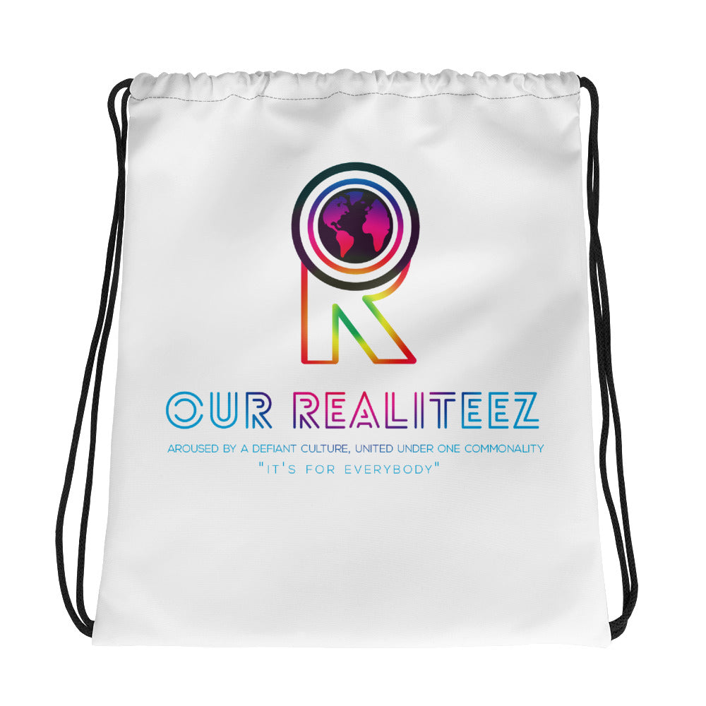 Multi-Color Our RealiTeez Drawstring Bag