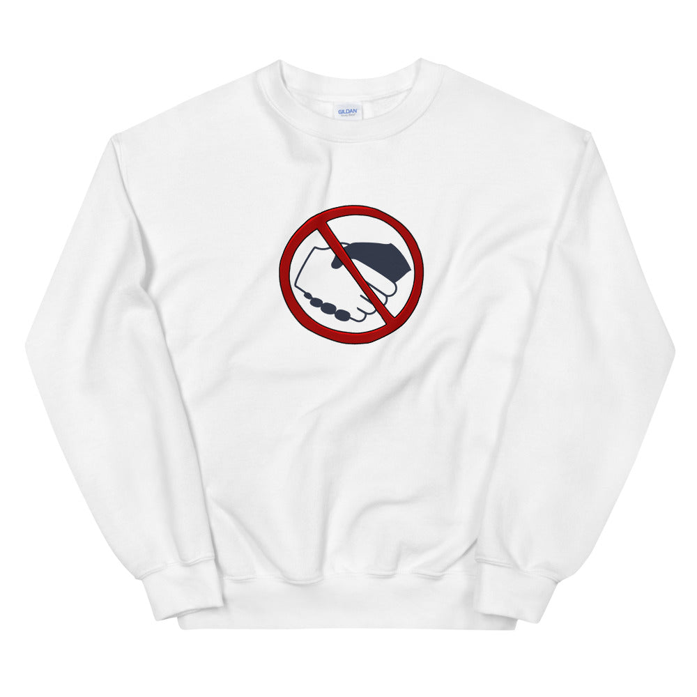 Sweatshirt - No Hands White