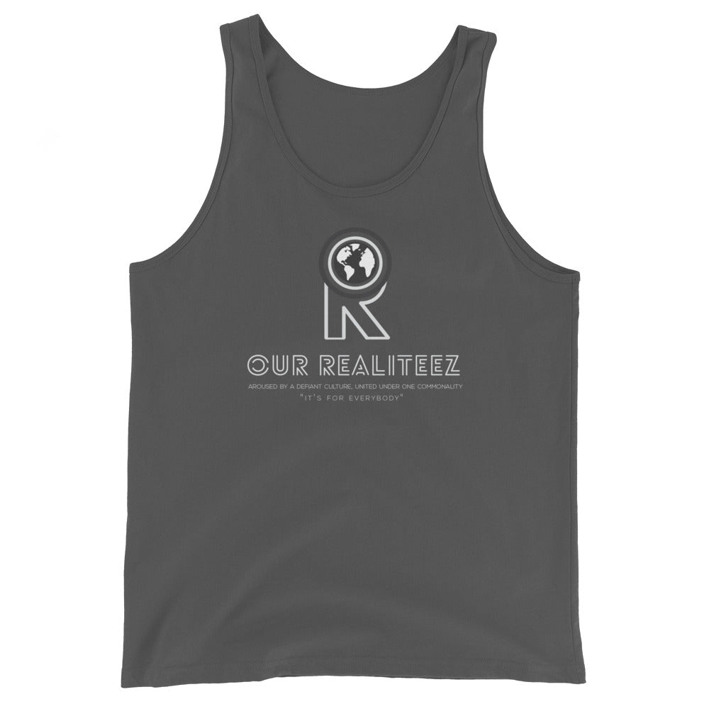 Unisex Tank Top - Illuminated logo on Deck