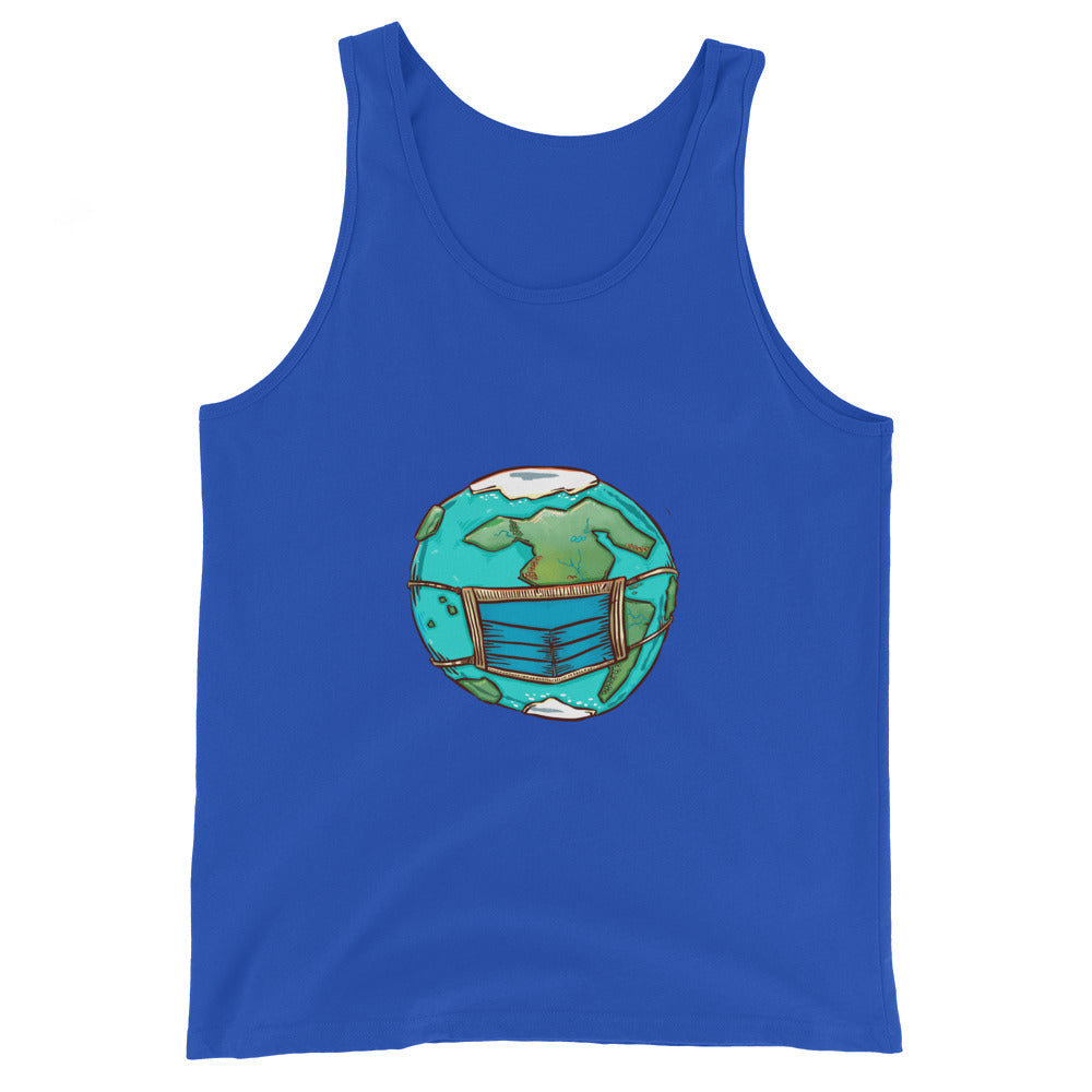Unisex Tank Top - Masked Earth