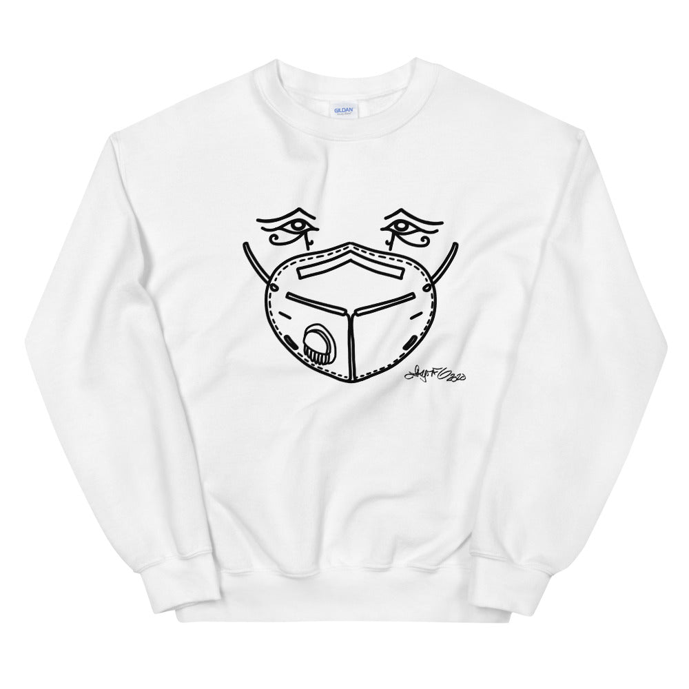 Sweatshirt - Mask Eyes Dark