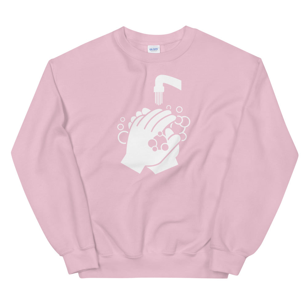 Sweatshirt - Clean Hands Light