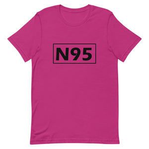 Unisex Short-Sleeve T-Shirt - N95 Dark